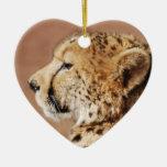Cheetah Prince Christmas Ornament