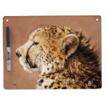 Cheetah Prince Dry Erase Board With Keychain Holder