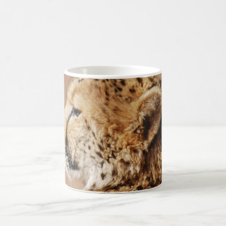 Cheetah Prince Classic White Coffee Mug