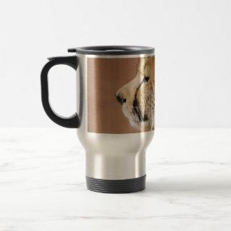 Cheetah Prince 15 Oz Stainless Steel Travel Mug