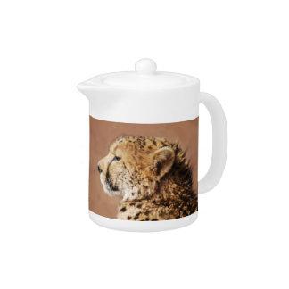 Cheetah Prince Teapot