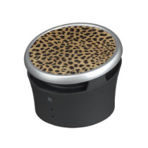 Cheetah Print Bluetooth Speaker
