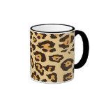 Cheetah Print Coffee Mugs