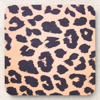 Cheetah Print Coasters