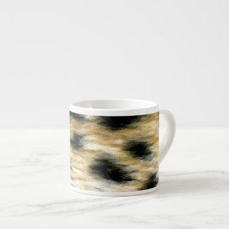 Cheetah Print Espresso Cup