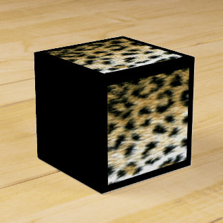 Cheetah Print Favor Boxes