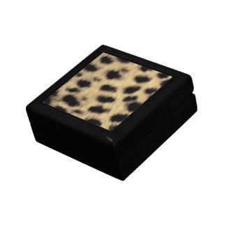 Cheetah Print Gift Box