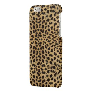 Cheetah Print Glossy iPhone 6 Case