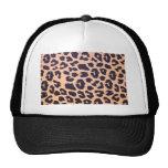 Cheetah Print Hat