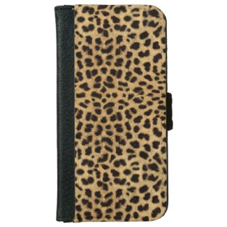 Cheetah Print iPhone 6 Wallet Case