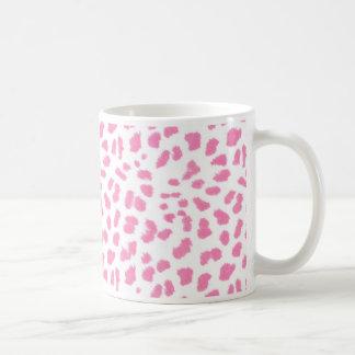 Cheetah Print Classic White Coffee Mug