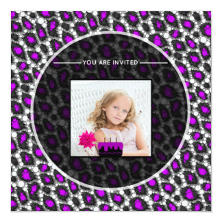 Cheetah Print Replace Image Card