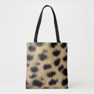 Cheetah Print Tote Bag