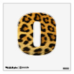 cheetah print wall decal