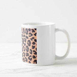 Cheetah prints coffee mug