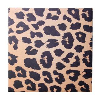 Cheetah prints tile