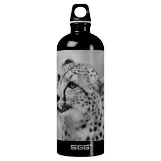 Cheetah profile water bottle