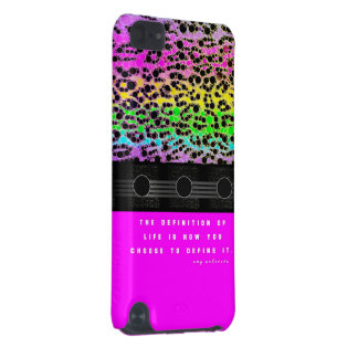 Cheetah Rainbow Life iPod Touch 5G Cover
