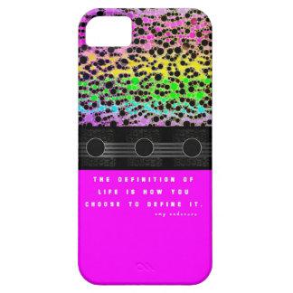 Cheetah Rainbow Life iPhone 5 Covers