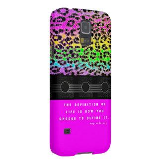 Cheetah Rainbow Life Galaxy S5 Covers