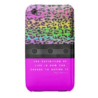 Cheetah Rainbow Life Case-Mate iPhone 3 Case