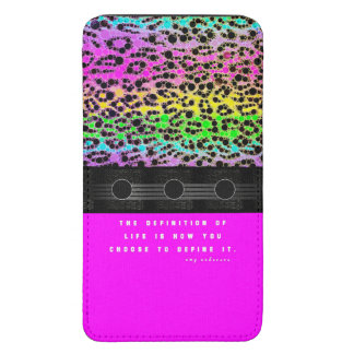 Cheetah Rainbow Life Galaxy S5 Pouch