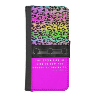 Cheetah Rainbow Life Phone Wallet