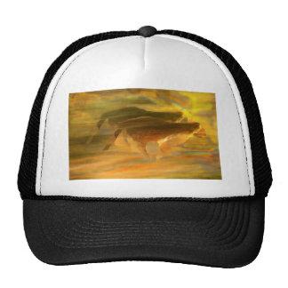 Cheetah Running Digital Art Hat
