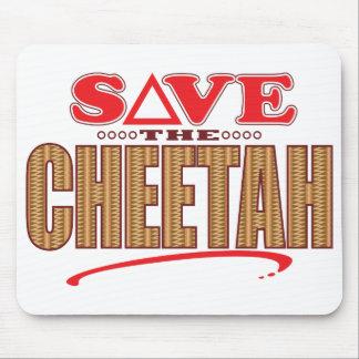 Cheetah Save Mouse Pad