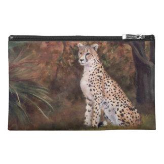 Cheetah Sitting Proud Travel Accessory Bag