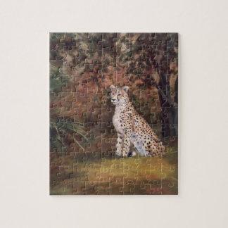 Cheetah Sitting Proud Puzzle