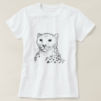 Cheetah Sketch. T-Shirt