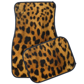 Cheetah Skin Car Mats Floor Mat