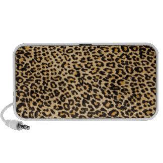 Cheetah skin notebook speakers