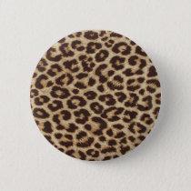 Cheetah Skin Print Button