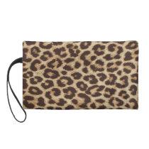 Cheetah Skin Print Wristlet