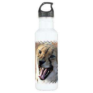 Cheetah Snarl  24oz Water Bottle