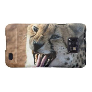 Cheetah Snarl Samsung Galaxy Case Galaxy SII Case