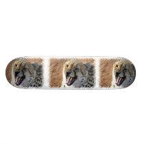 Cheetah Snarl Skateboard