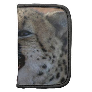 Cheetah Snarl  Wallet Folio Folio Planner