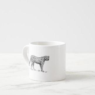 Cheetah Espresso Mug
