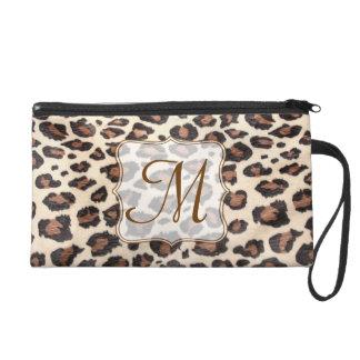 Cheetah Spot Animal Print Make Up Bag Tote Purse