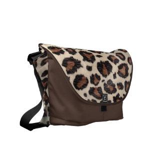 Cheetah Spot Animal Print Wild Cat Bag Tote Purse Messenger Bags