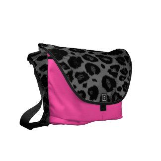 Cheetah Spot Animal Print Wild Cat Bag Tote Purse Courier Bag