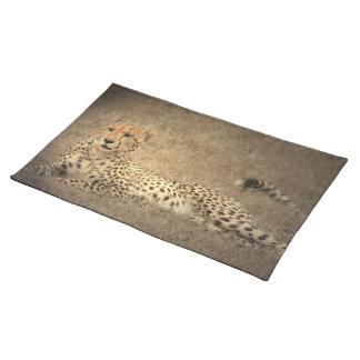 Cheetah Spots  Placemat Cloth Place Mat