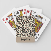 Cheetah Spots Playing Cards