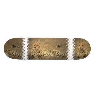 Cheetah Spots Skateboard