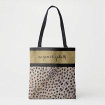 Cheetah Spots Tote Bag