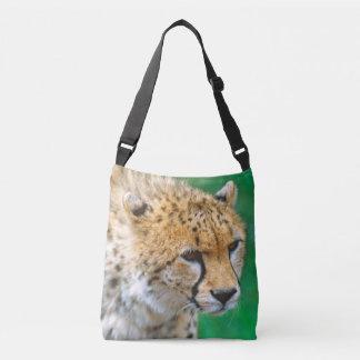 Cheetah Stalking Prey Crossbody Bag