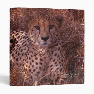 Cheetah Stare Binder